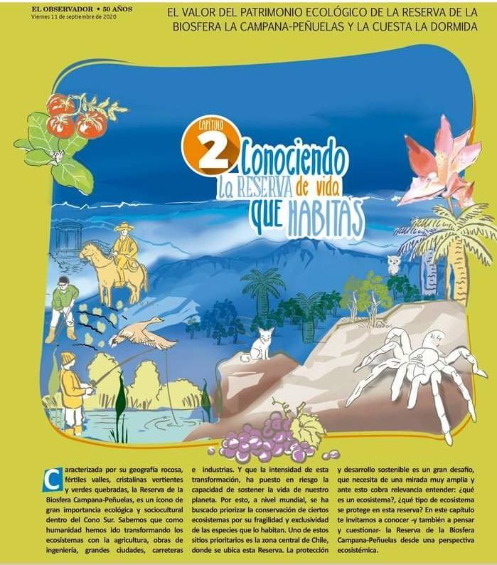El valor ecológico de la Reserva de la Biósfera Parque Nacional La Campana- Peñuelas